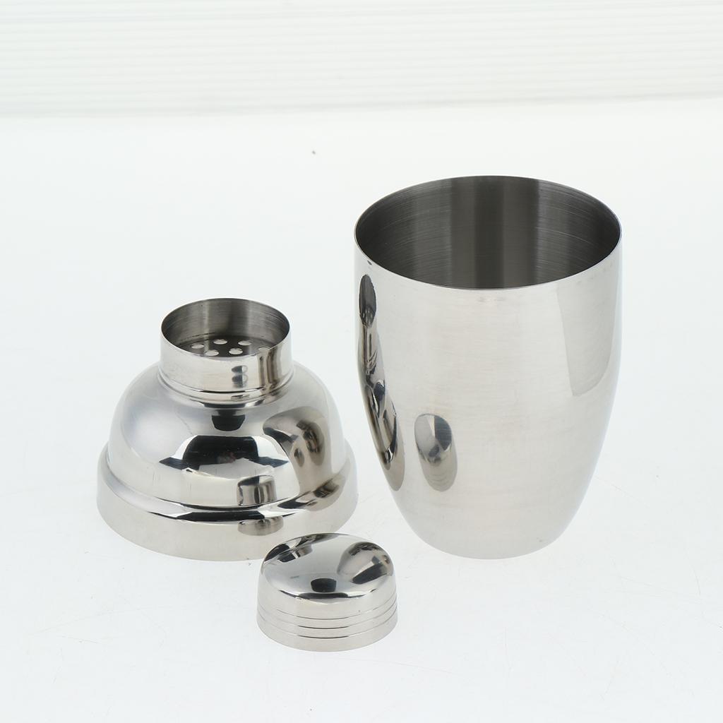 Stainless-Steel-Wine-Cocktail-Shaker-250-350-530ml-for-Bar-Liquor-Service thumbnail 4