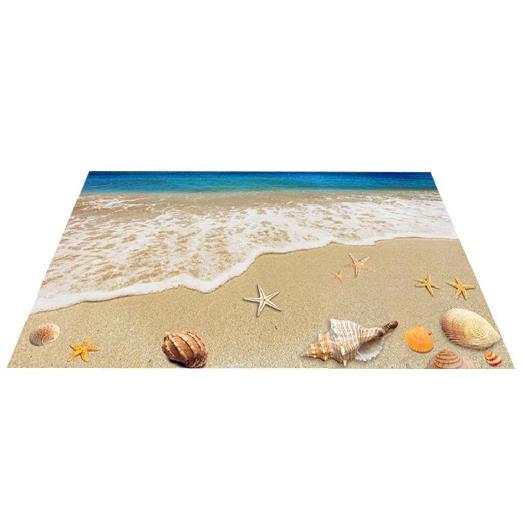 3d Beach Themed Doormats Rugs Non Slip Floor Mat For Front