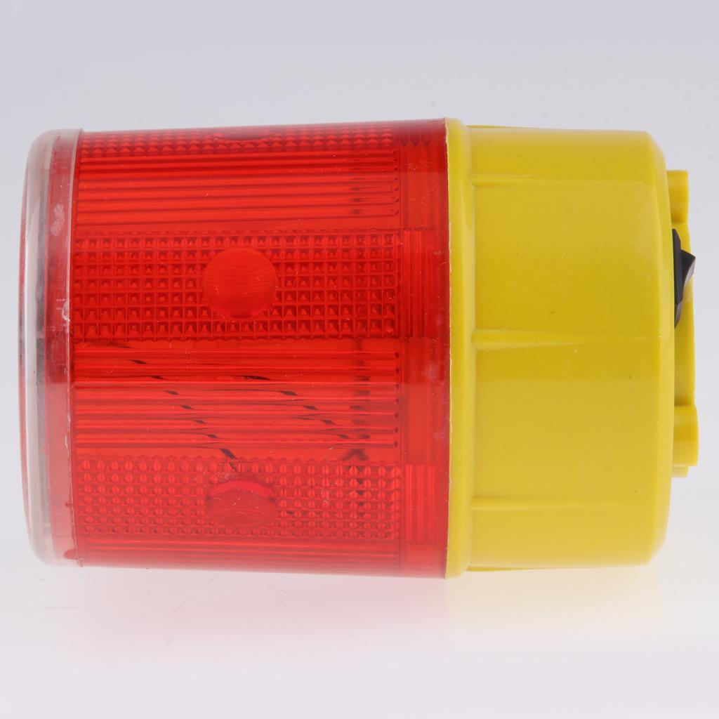 thumbnail 10 - Solar 3 LED Flashing Amber Strobe Beacon Emergency Warning Light Car Lamp