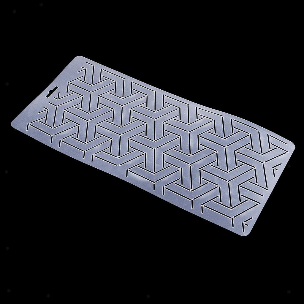 1pc-Plastic-Embroidery-Quilting-Templates-amp-Stencils-Sewing-Patchwork-Tools-DIY thumbnail 25