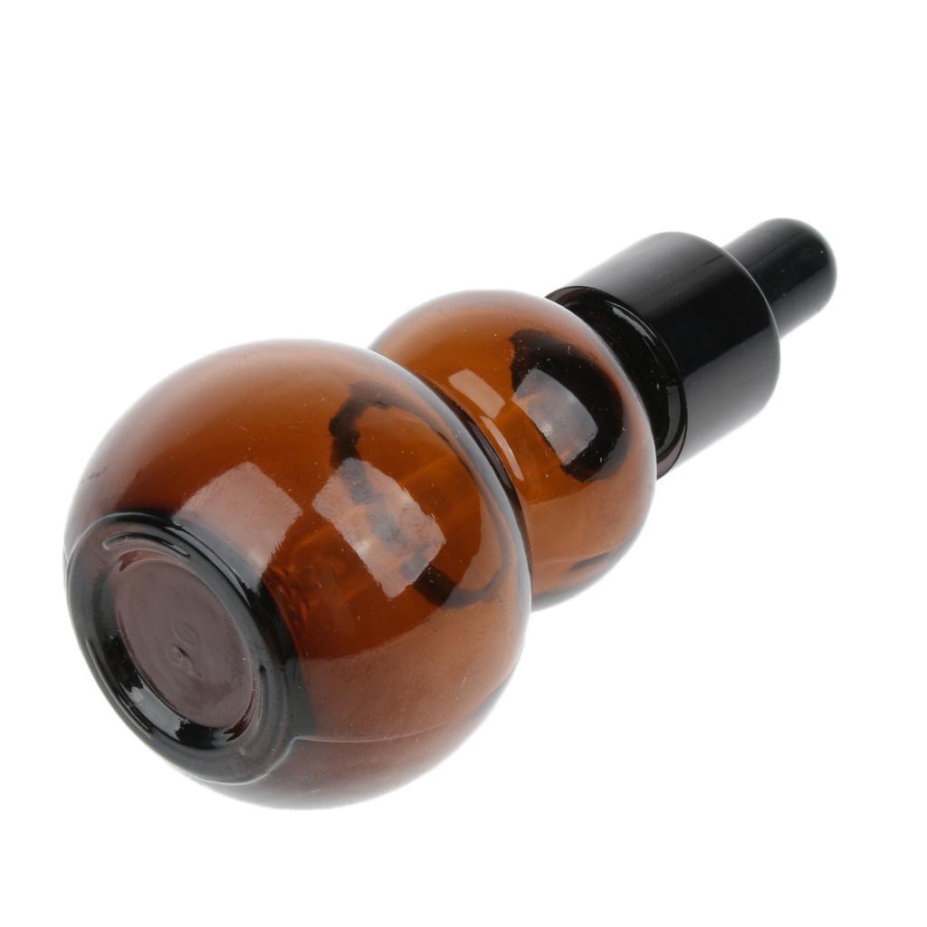 6-Pezzi-Bottiglie-Contagocce-Flacone-Olio-Essenziali-Liquido-Accessori-Vetro miniatura 10