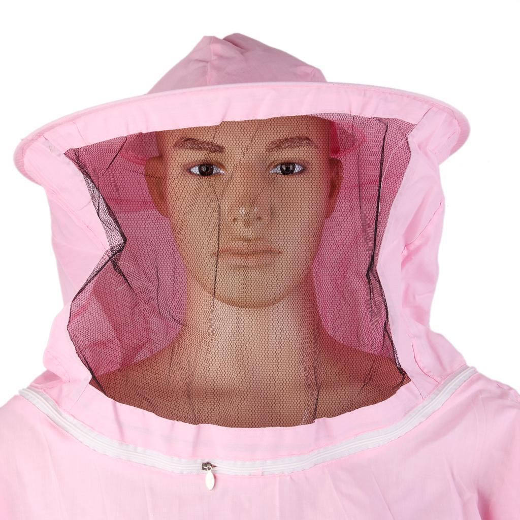 Giacca-Con-Cappello-e-Maschera-Rete-Protezione-Ape-Per-Apicoltura miniatura 20