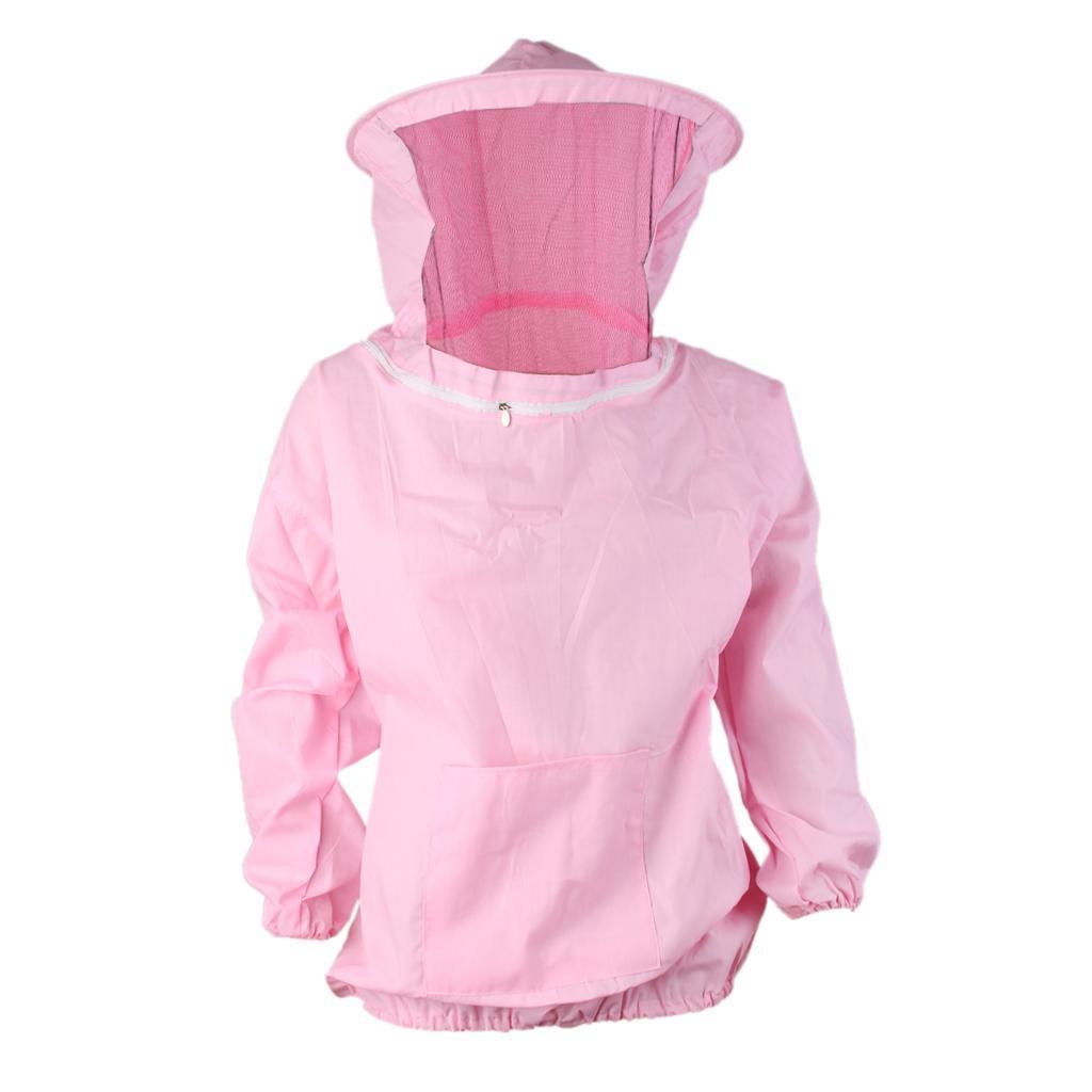Giacca-Con-Cappello-e-Maschera-Rete-Protezione-Ape-Per-Apicoltura miniatura 22