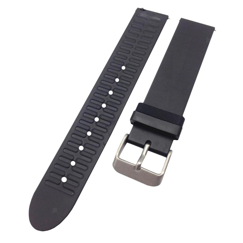 Indexbild 14 - Smart Watch Wristband, TPE Gummi Gel Handgelenk Band Bügel Gurt und