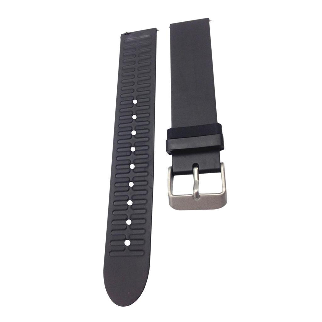 Indexbild 16 - Smart Watch Wristband, TPE Gummi Gel Handgelenk Band Bügel Gurt und