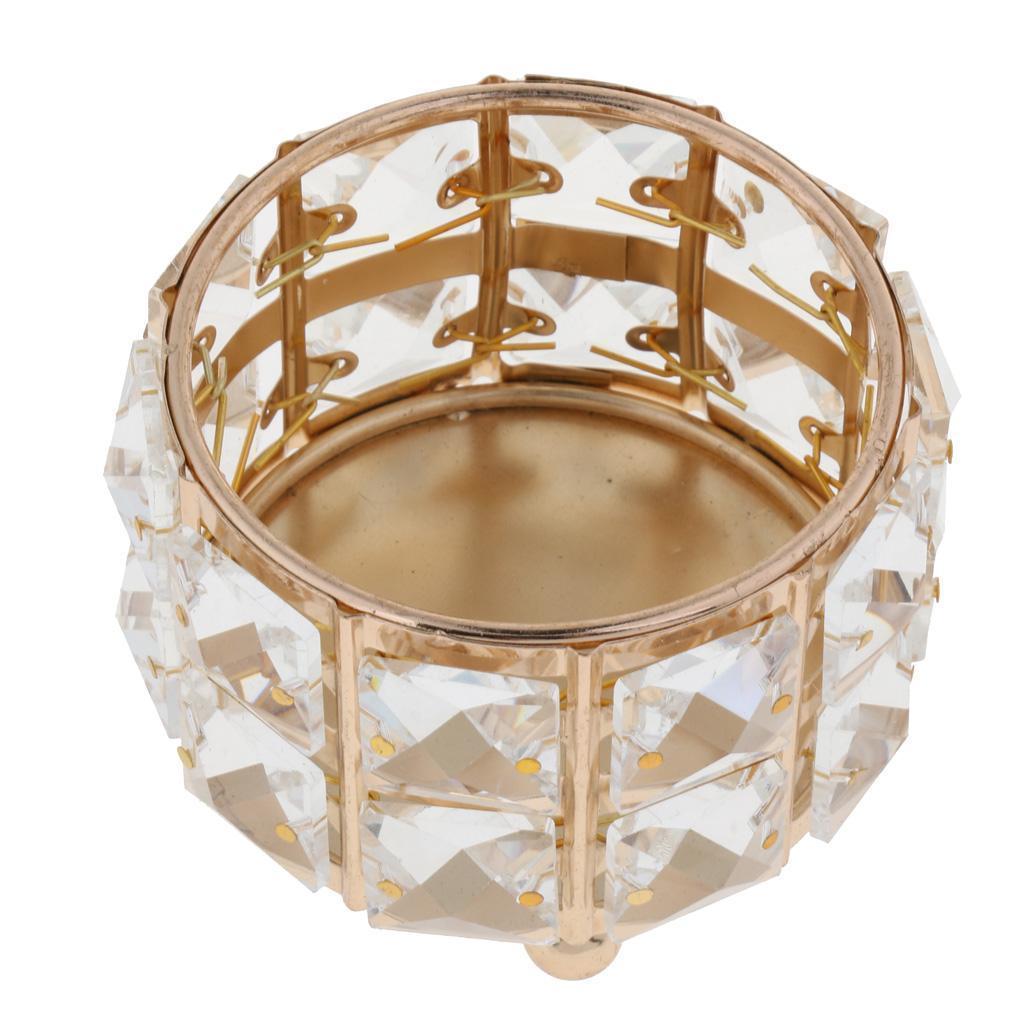 Bougie Décoration De Table détails sur bougeoir verre cristal bol support porte-bougie décoration de  table mariage