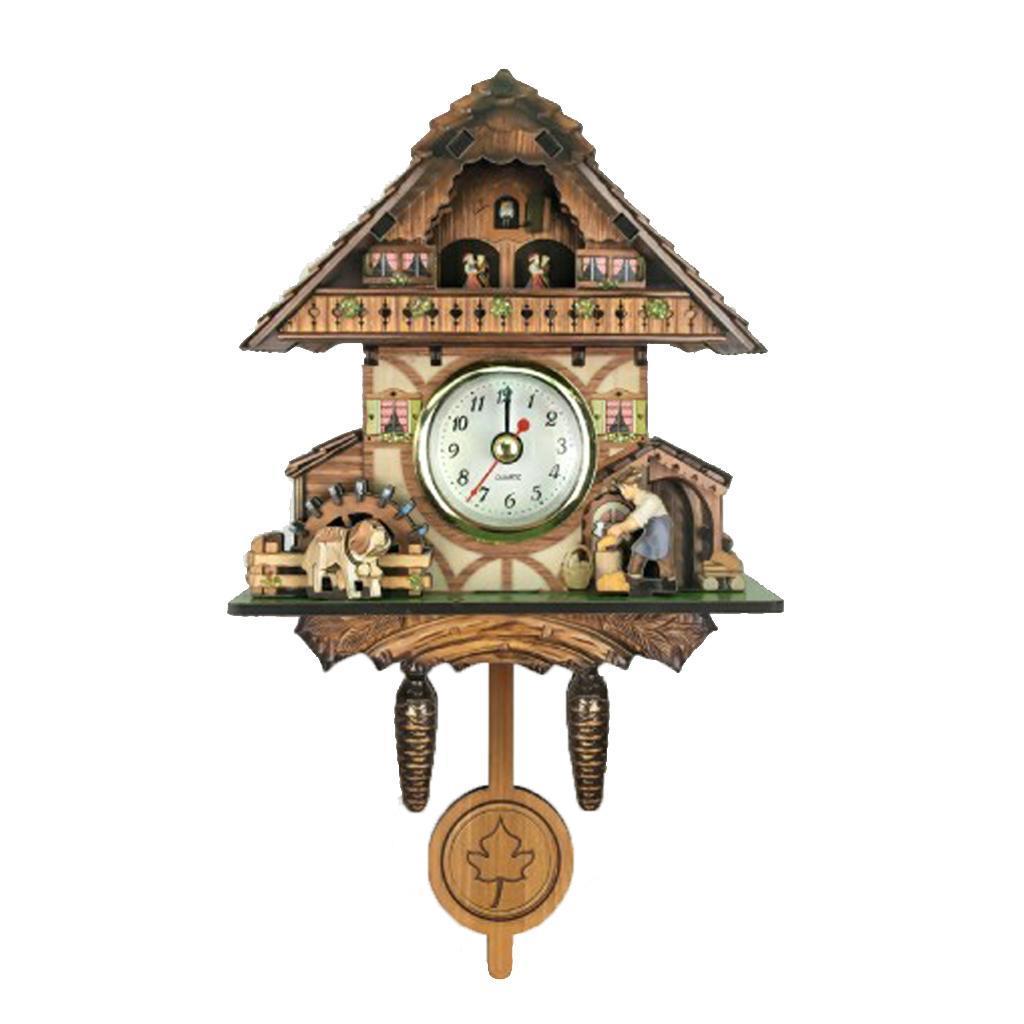research.unir.net Home & Garden Wall Clocks Antique Cuckoo Wall ...
