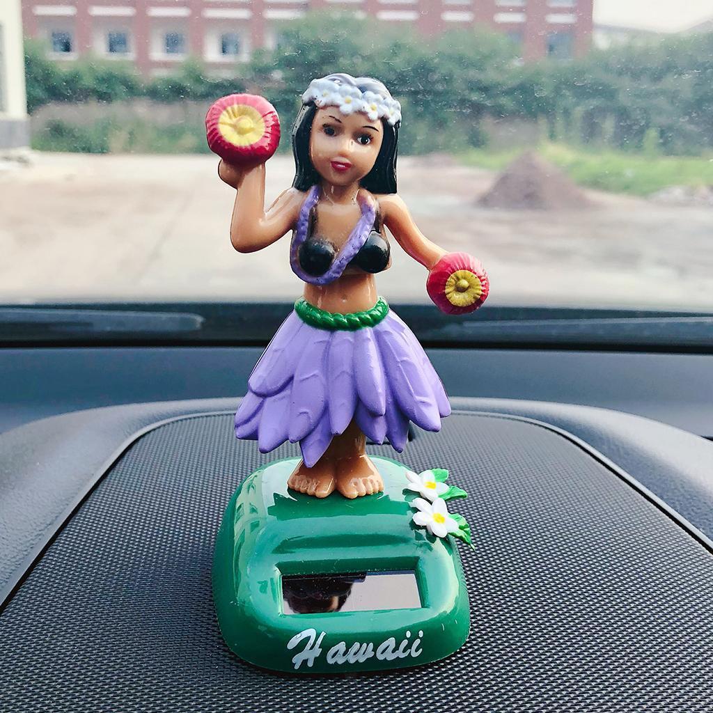 Solar-Power-Dancing-Hawaii-Girl-Dancer-Toy-Home-Office-Car-Dashboard-Decor thumbnail 16