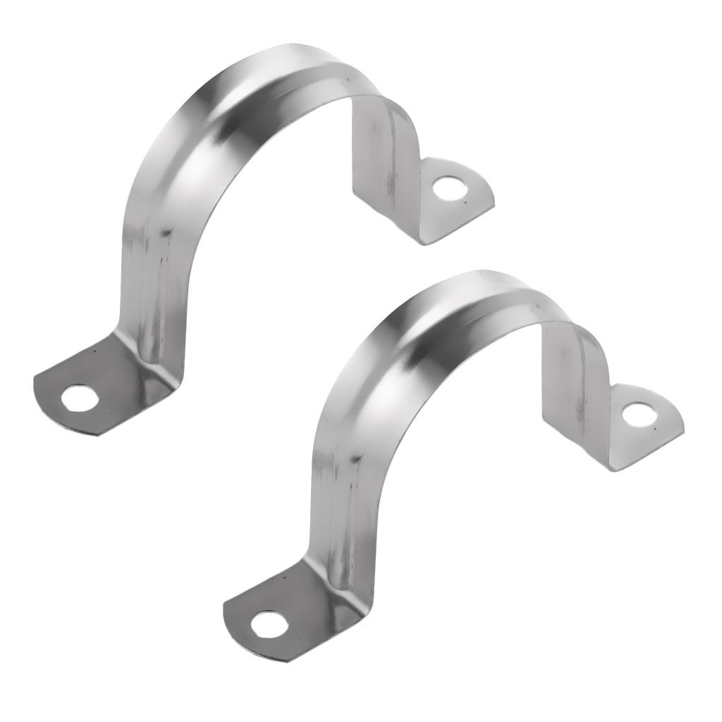 Mild Steel Half Saddle Clip Zinc Plated