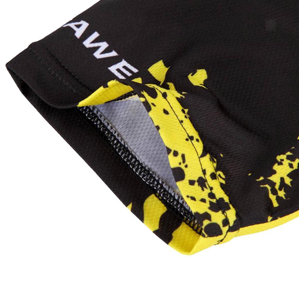 Homme-Maillots-De-Cyclisme-Velo-a-Manches-Courtes-Respirant-T-Shirt miniature 18