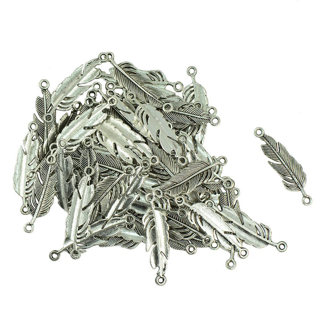 Pendentifs-Breloques-Charms-pour-Bijoux-Collier-Bracelet-DIY-Artisanat miniature 39