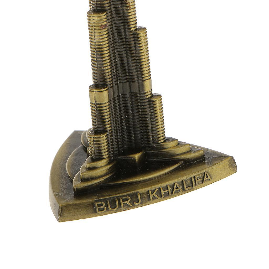 Bronze-World-039-s-Famous-Building-Architecture-Model-Statue-Landmark-Home-Decor thumbnail 4