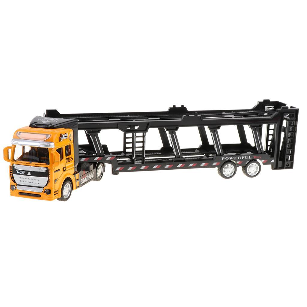 1:50 Maßstab  LKW-Autotransporter Druckguss-Trailer Modell Spielzeug