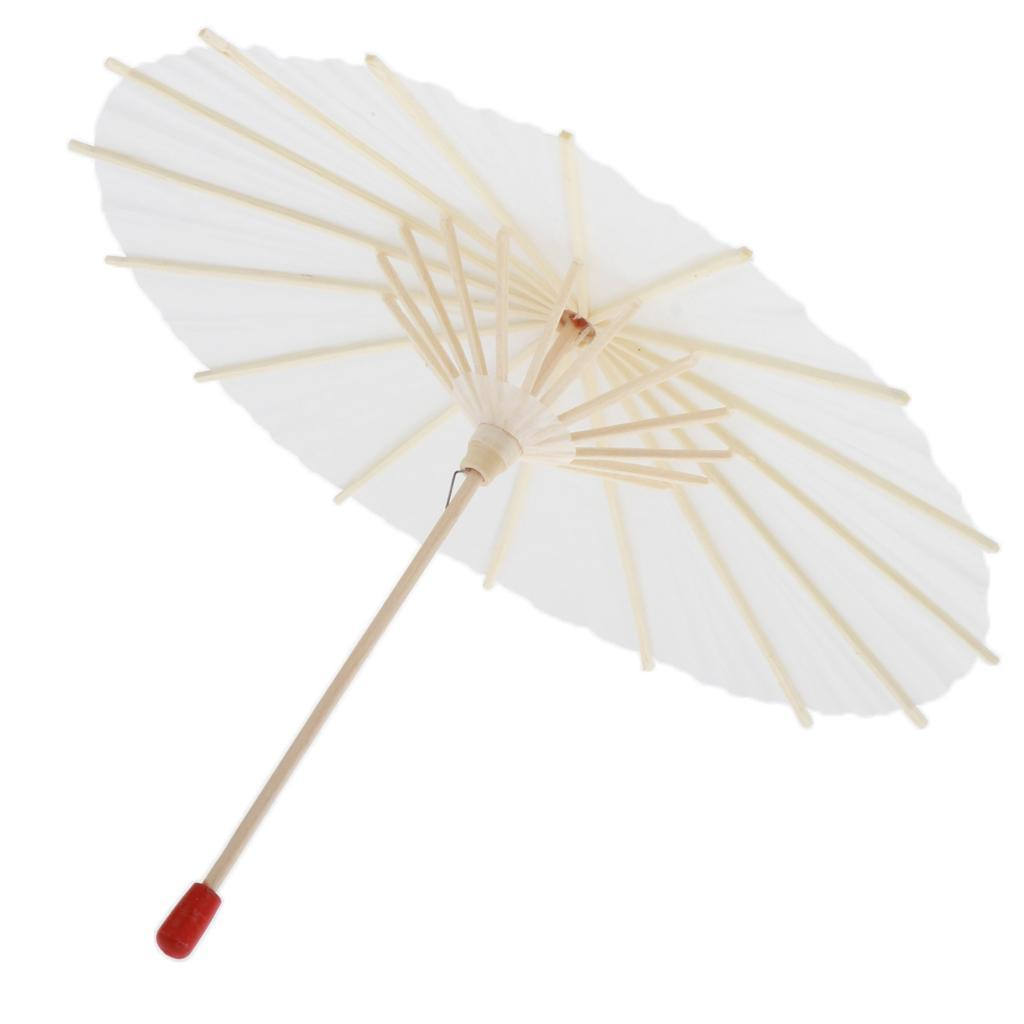 Oil Paper Umbrellas Classical Photography Props Kids Toy for 1//3 BJD Dolls L