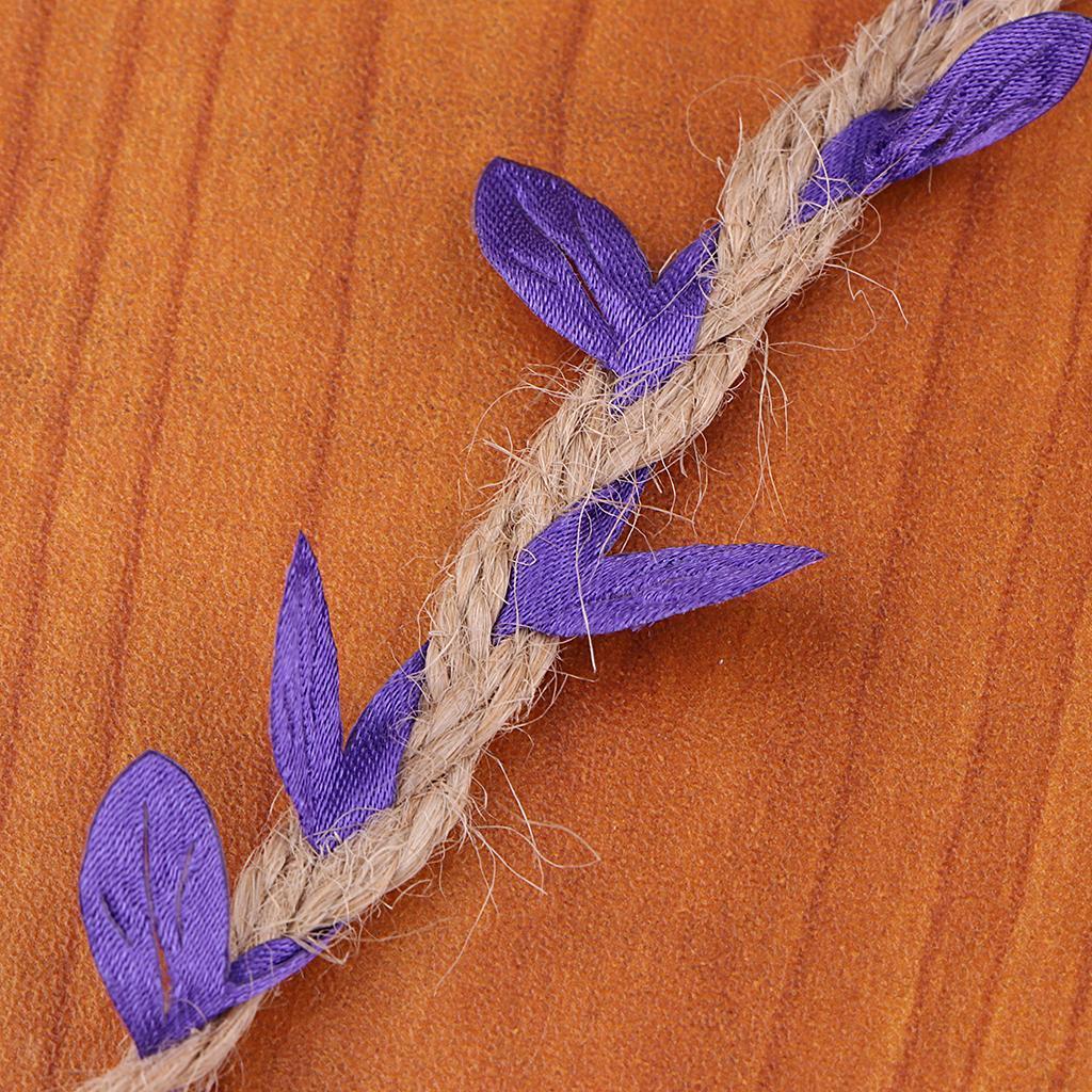 Colorful-Artificial-Silk-Trailing-Vine-Flower-Plant-Wedding-Garland-Foliage thumbnail 14