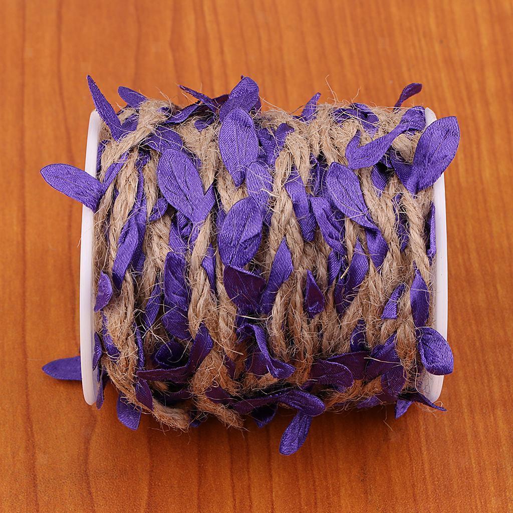 Artificial-Vine-Fake-Leaves-Silk-Rattan-Home-Ornament-Silk-Wreath-Foliage thumbnail 16