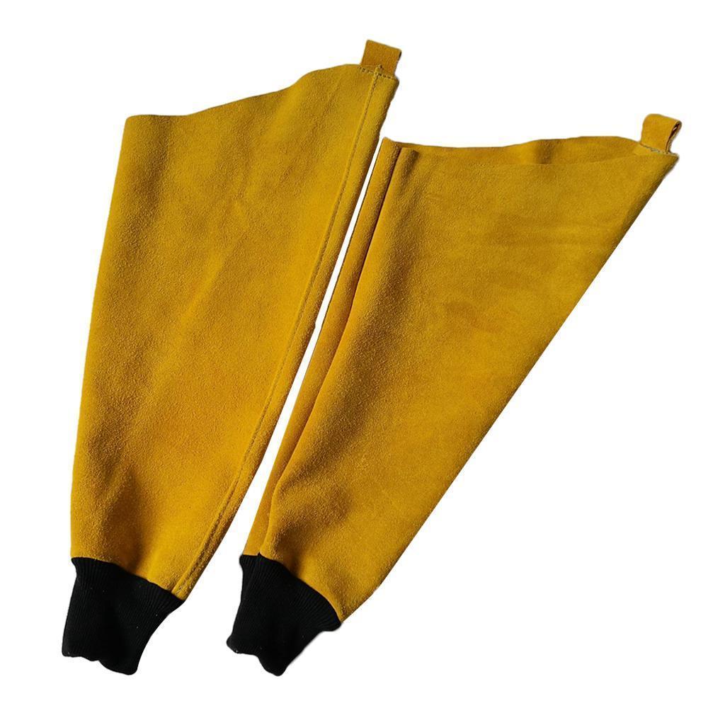 Assorted-Welding-Apron-Welder-Helmet-Hood-Coat-Gloves-Sleeves-Shoes-Feet-Cover thumbnail 8