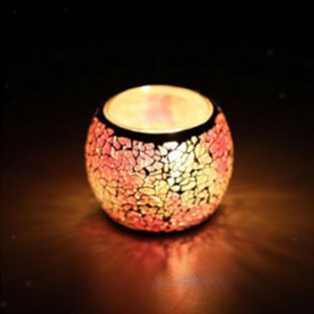 Assorted-Moroccan-Mosaic-Glass-Votive-Candle-Tea-Light-Candelabra-Candlestick thumbnail 28