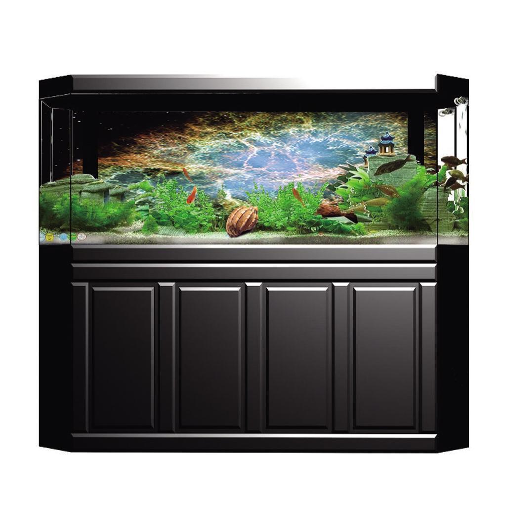 Poster-di-pesci-acquario-Poster-di-sfondo-3D-per-decorazione-acquario miniatura 15