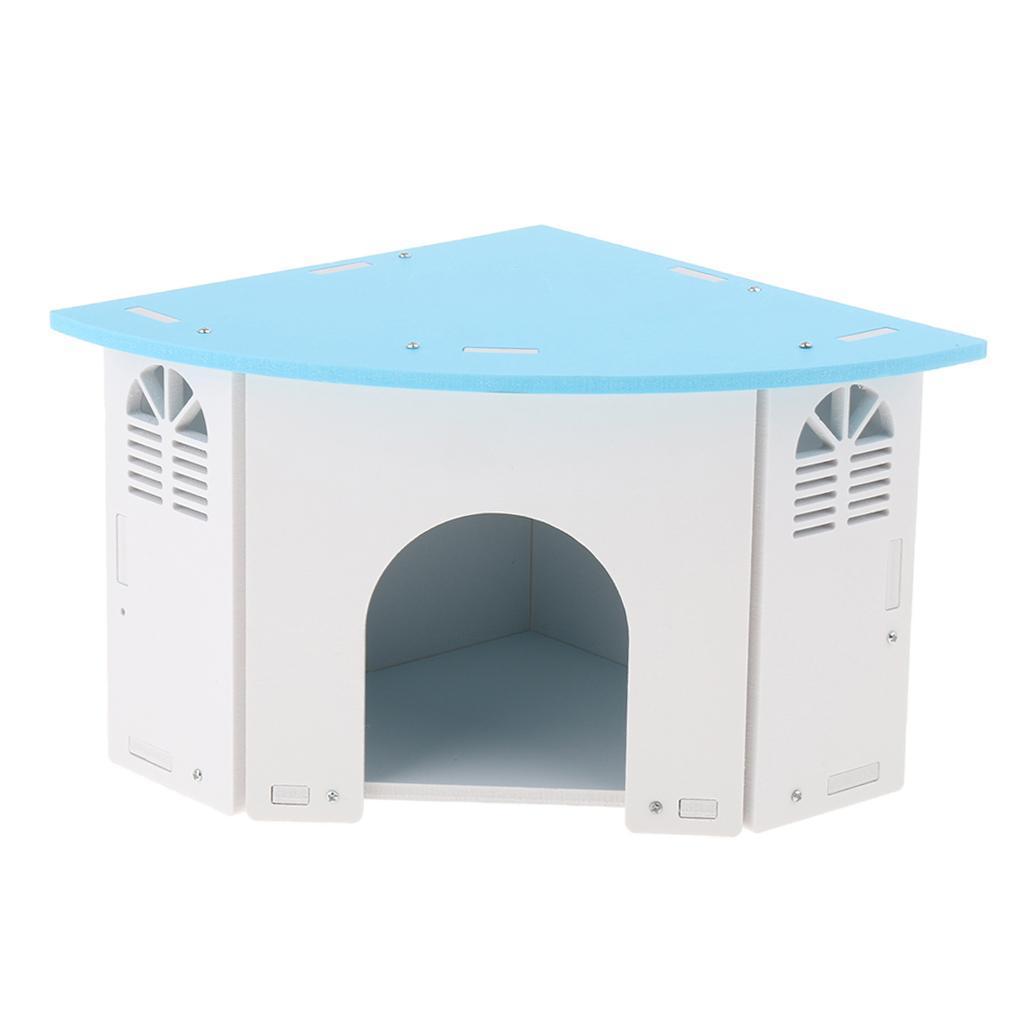 Cute-Hamster-House-Cage-for-Rat-Mouse-Nest-Net-Villa-FOR-Rat-Sleep-Rest miniature 6
