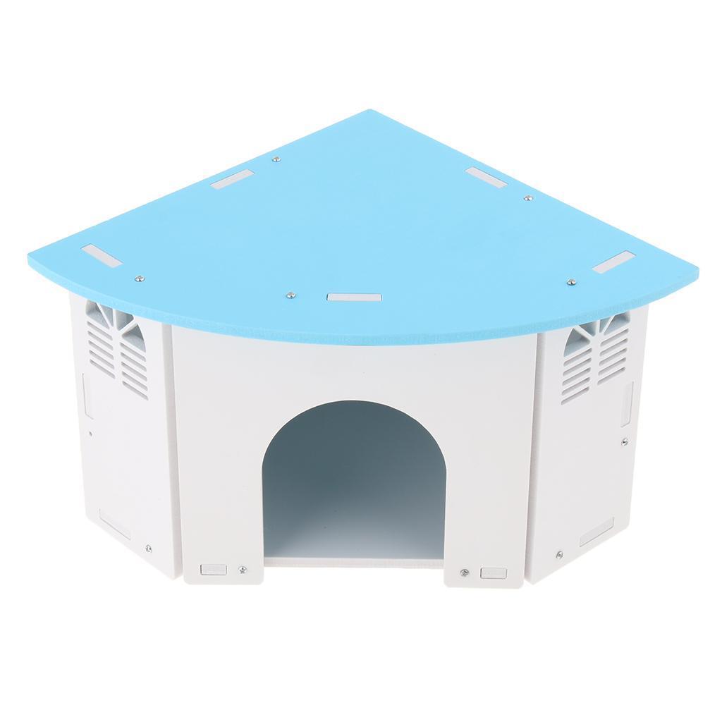Cute-Hamster-House-Cage-for-Rat-Mouse-Nest-Net-Villa-FOR-Rat-Sleep-Rest miniature 7