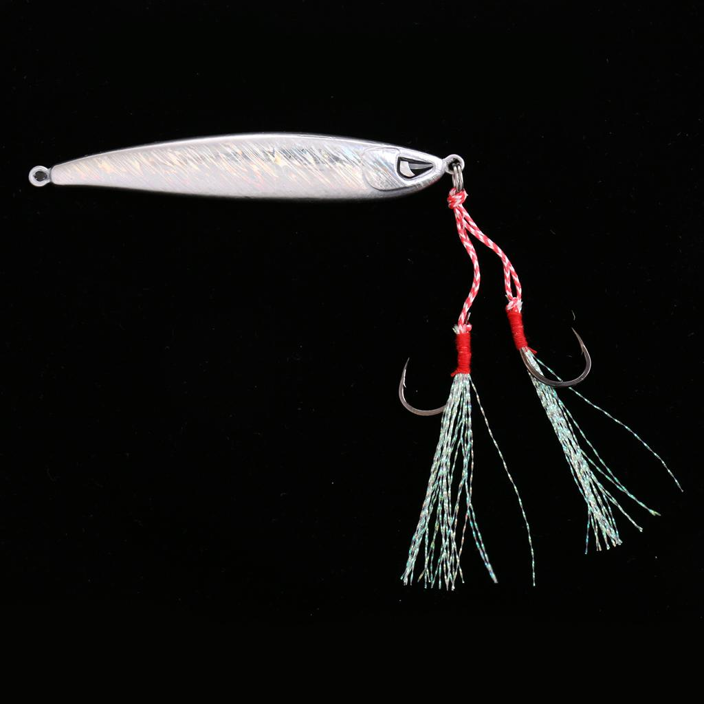 Lead Fish 60g//80g Fishing Lures Baits Casting Lure Deep Spoon Bass Jigs