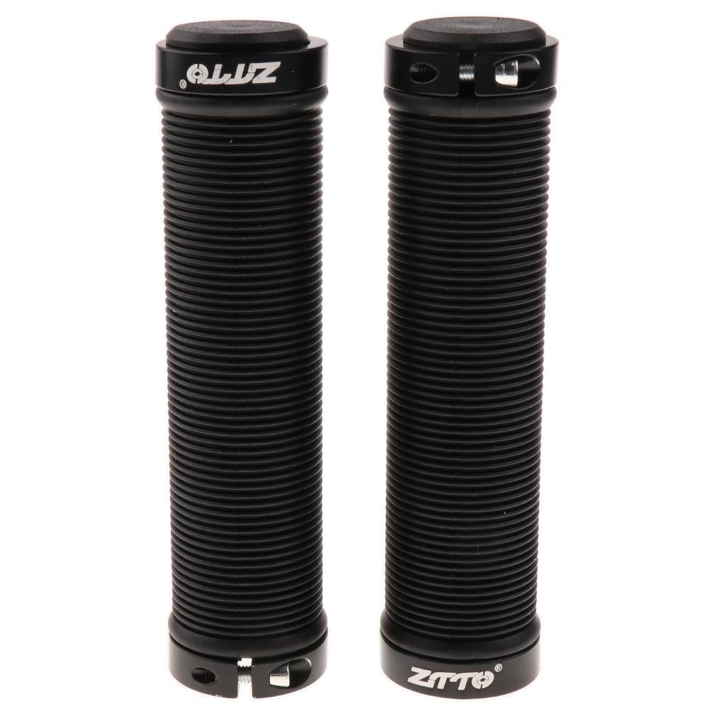 Anti-slip-Gel-Bicycle-Handlebar-Grips-MTB-BMX-Fixed-Gear-Bike-Double-Lock-on thumbnail 6