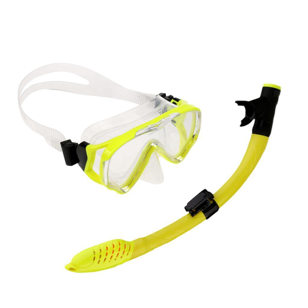 Comfortable-Silicone-Free-Diving-Scuba-Dive-Mask-Snorkel-Set-for-Kids-Junior thumbnail 14