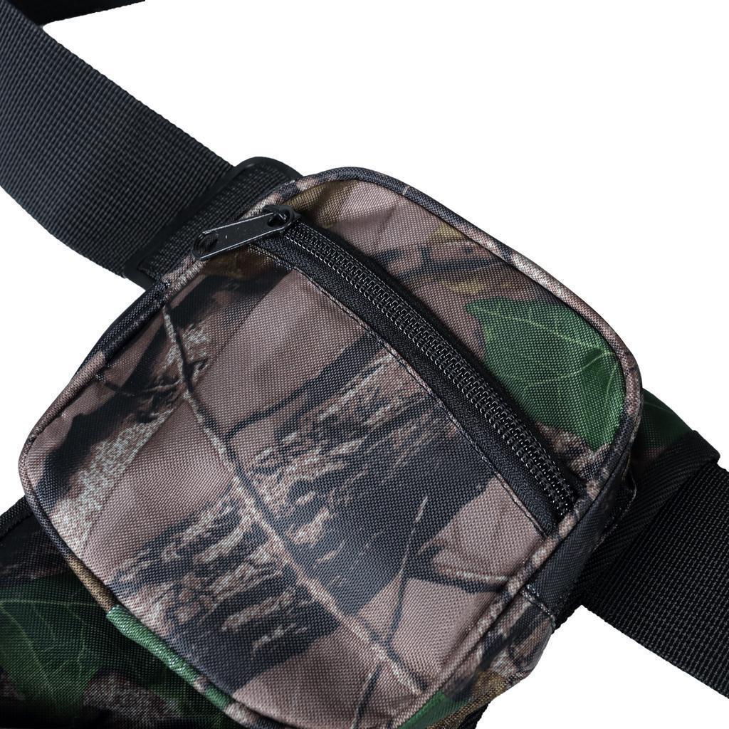 Archery-4-Tube-Camo-Arrow-Quiver-Holder-Belt-Waist-Bow-Hunting thumbnail 8