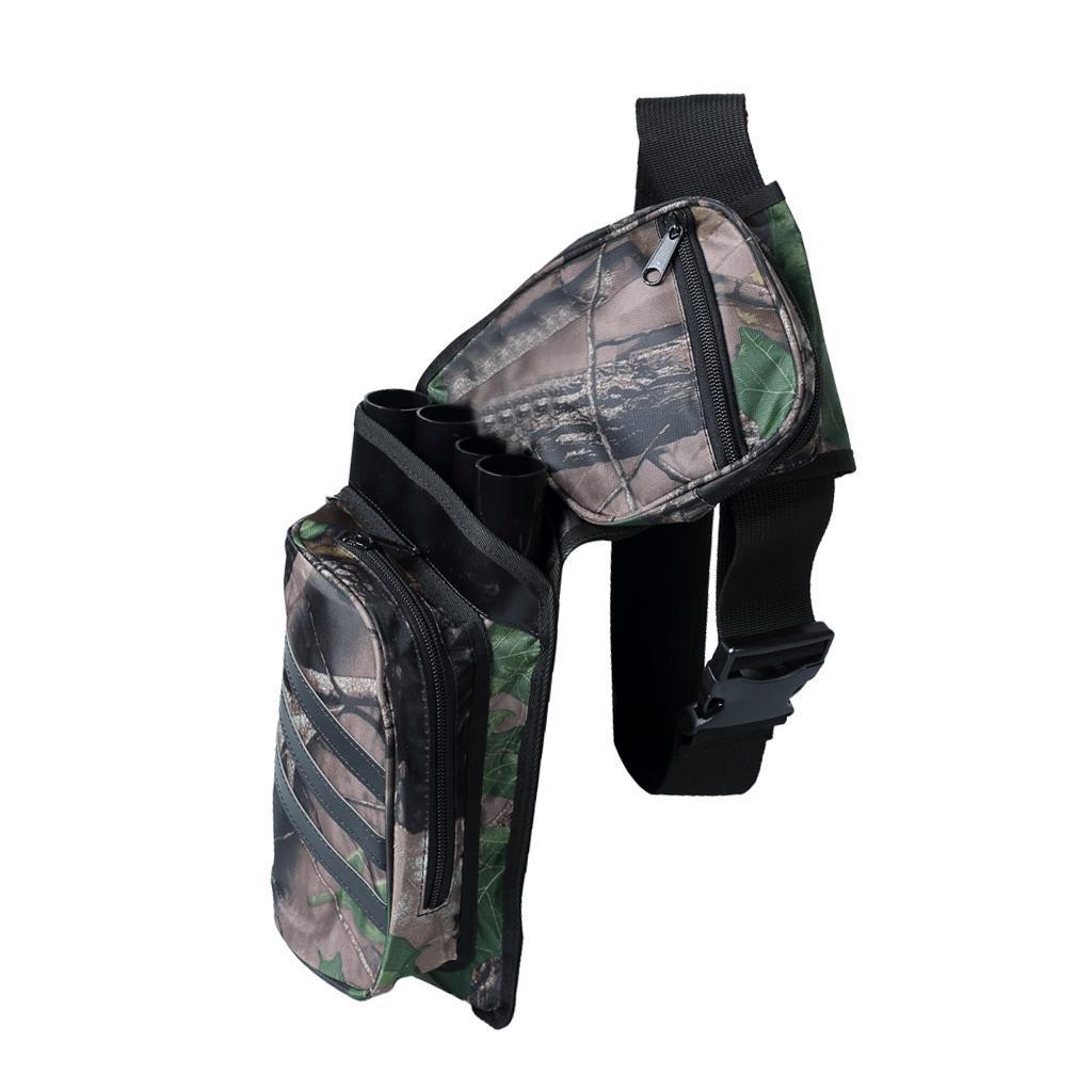 Archery-4-Tube-Camo-Arrow-Quiver-Holder-Belt-Waist-Bow-Hunting thumbnail 6