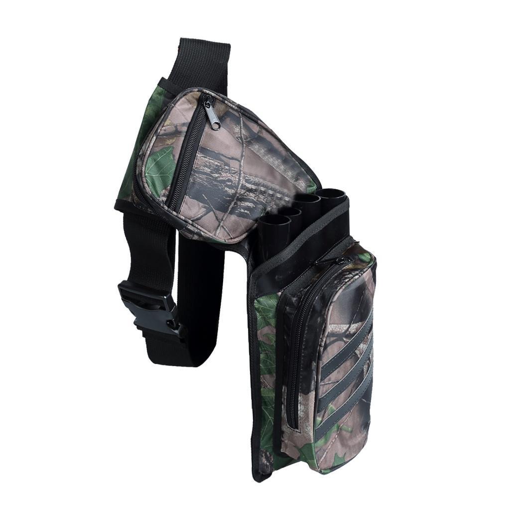 Archery-4-Tube-Camo-Arrow-Quiver-Holder-Belt-Waist-Bow-Hunting thumbnail 7
