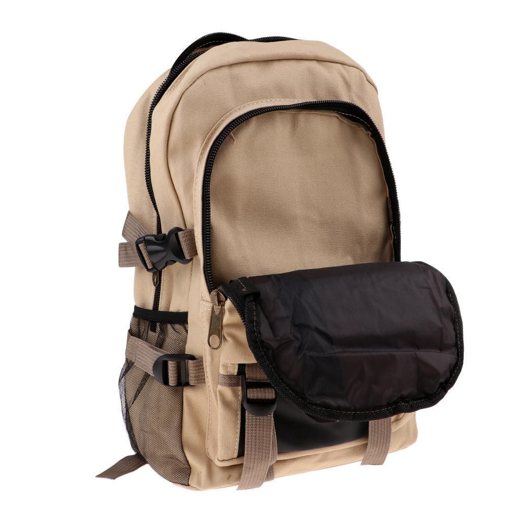 Sac-a-dos-En-Toile-Sac-D-039-ordinateur-Portable-Cartable-Pack-De-Sport-En miniature 14