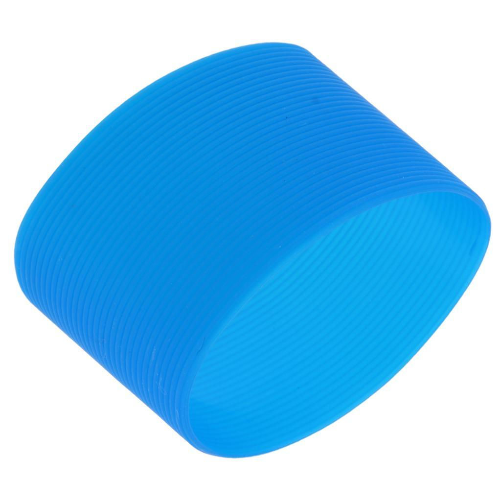 MagiDeal-Outdoors-Silicone-Round-Non-slip-Water-Bottle-Mug-Cup-Sleeve-Cover thumbnail 11
