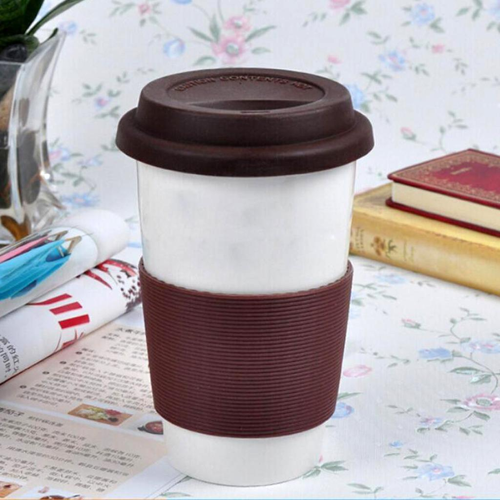 MagiDeal-Outdoors-Silicone-Round-Non-slip-Water-Bottle-Mug-Cup-Sleeve-Cover thumbnail 12