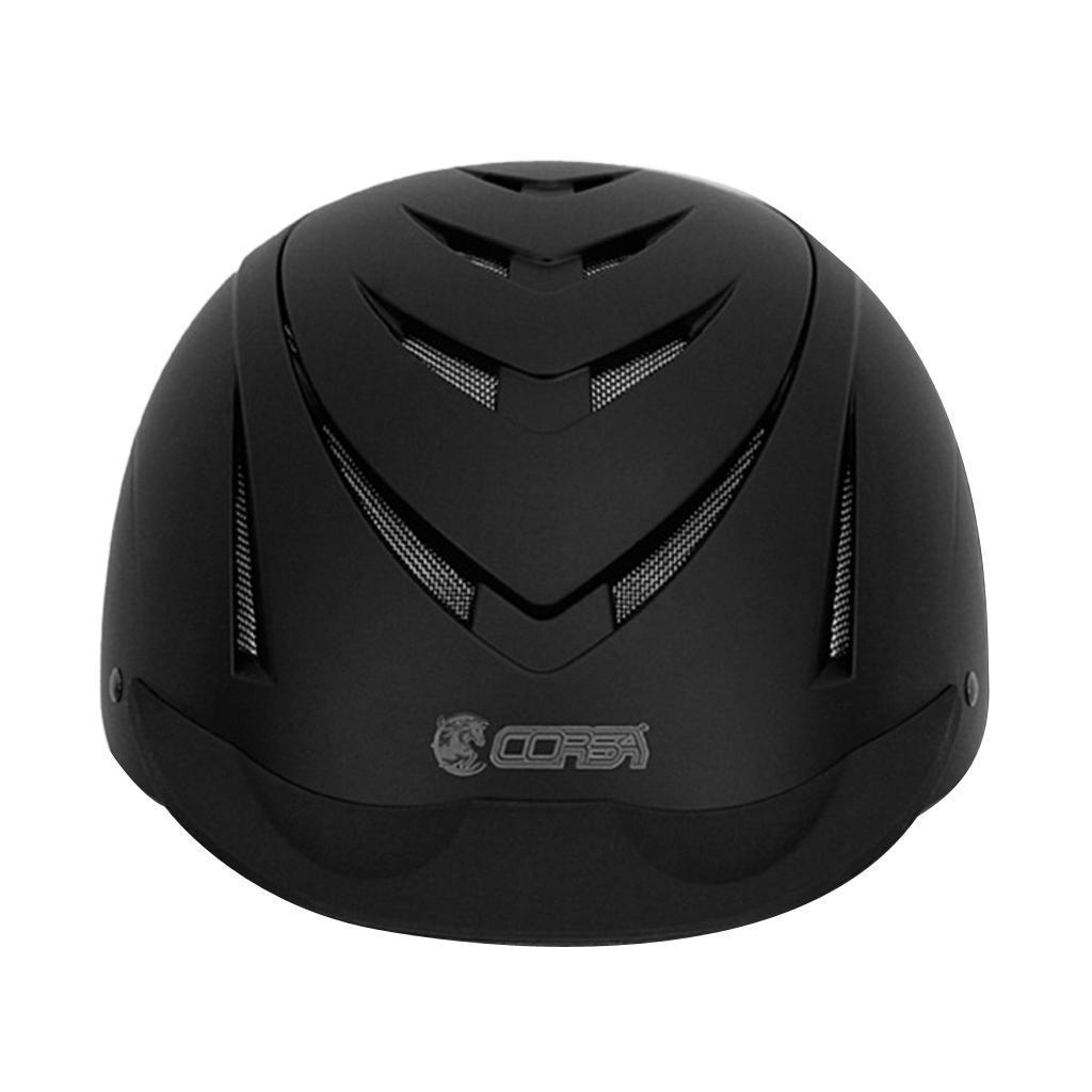 Details about Adjustable Horse Riding Helmet Kids Head Protection 51-59cm  Size Optional