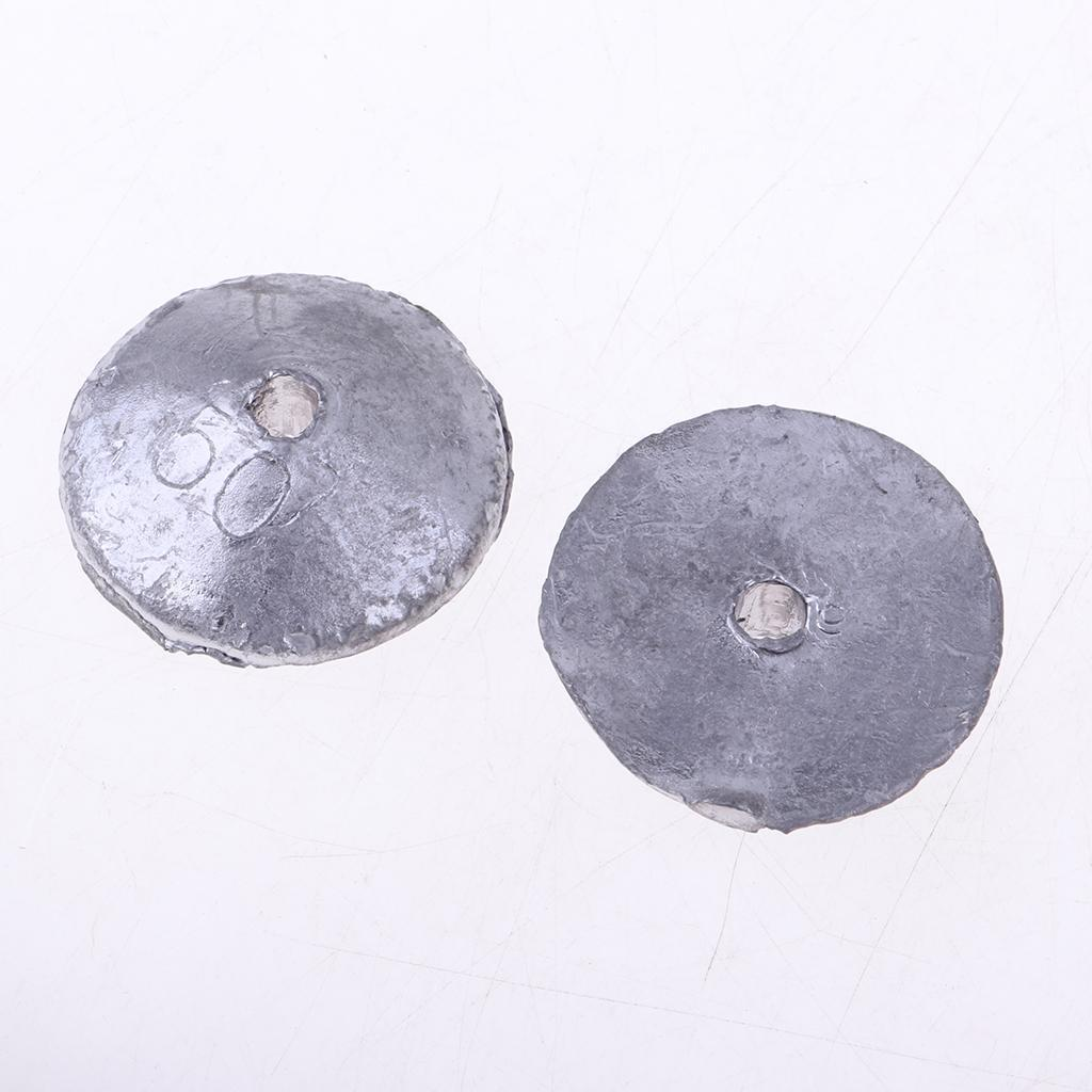Details about  /10Pcs Lead Weights Pendant Durable Terminal Tackles Outdoor Sinkers Random Spare