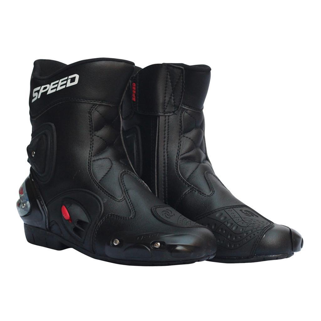 Bottes-de-Moto-Mode-Touring-Chaussures-d-039-Equitation miniature 21
