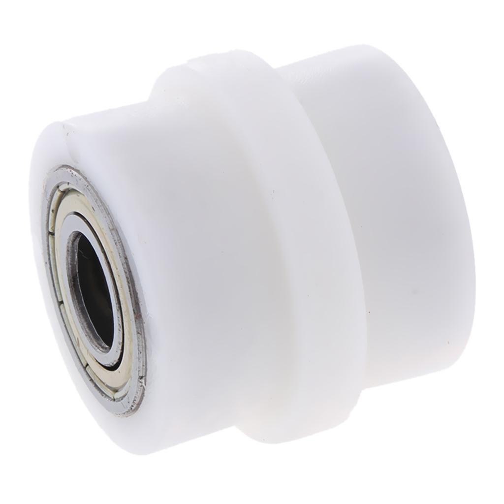 Motorcycle-Chain-Tensioner-Pulley-Wheel-Moto-Chain-Roller-Slider-10mm miniature 13