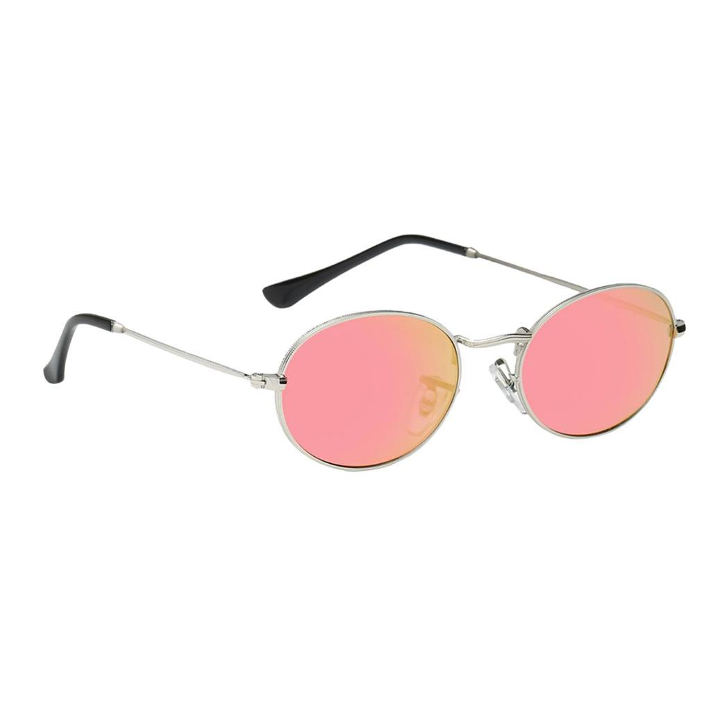 Vintage-Round-Frame-Womens-Men-039-s-Retro-Mirror-Sunglasses-Eyewear-Fashion-Glasses thumbnail 3