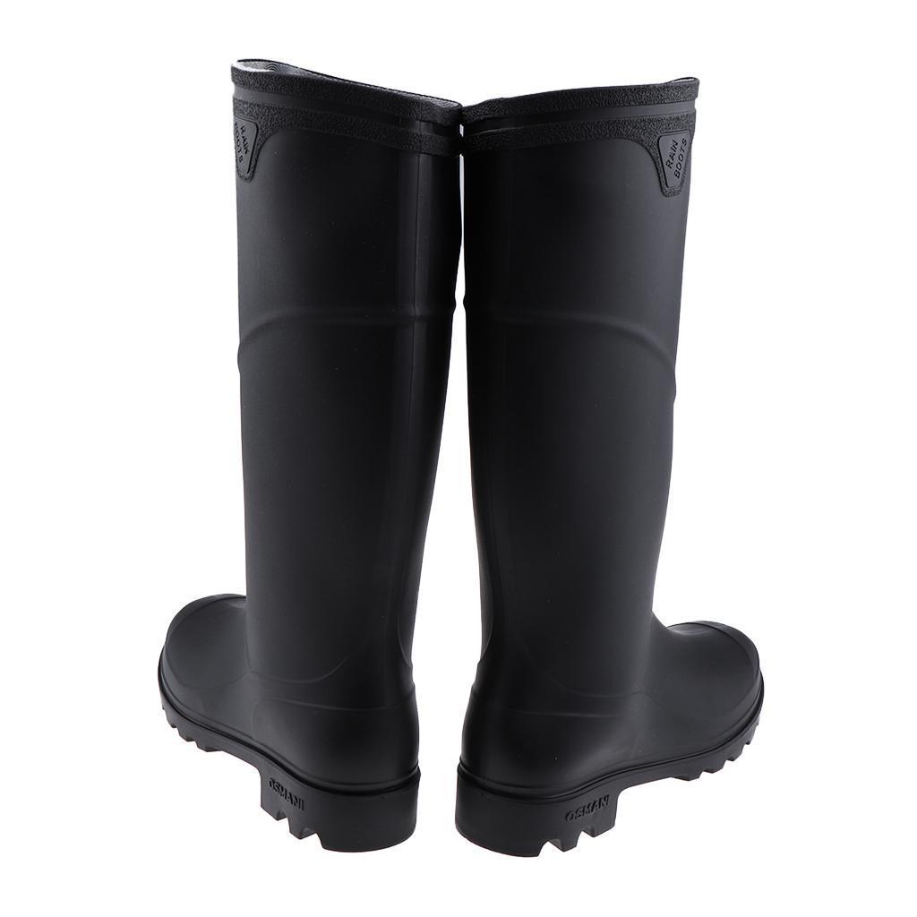 online retailer e630e 03d89 Details about Men Rain Boots Waterpoof Wellingtons Wellies Ultra  Lightweight Garden Boots