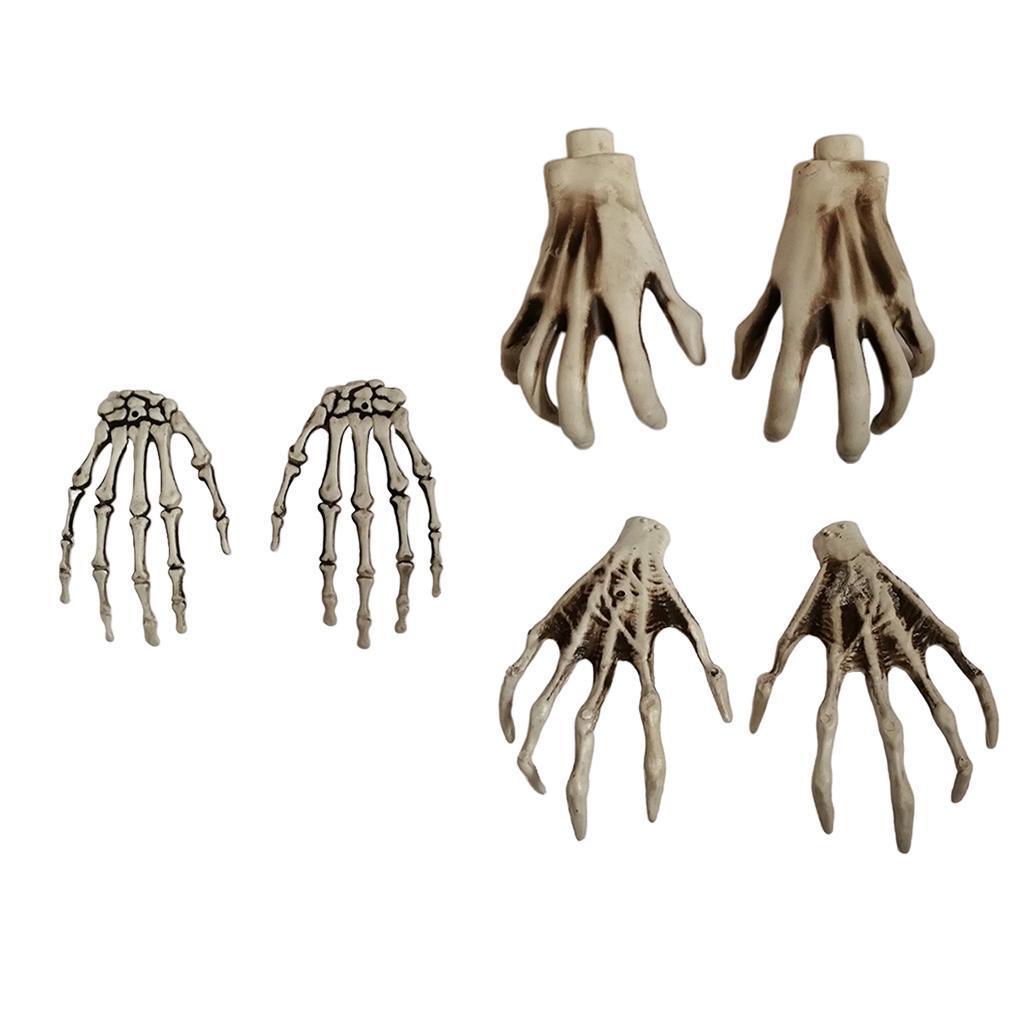 Halloween Scary Horror Skeleton Hands Skull Hand Haunted