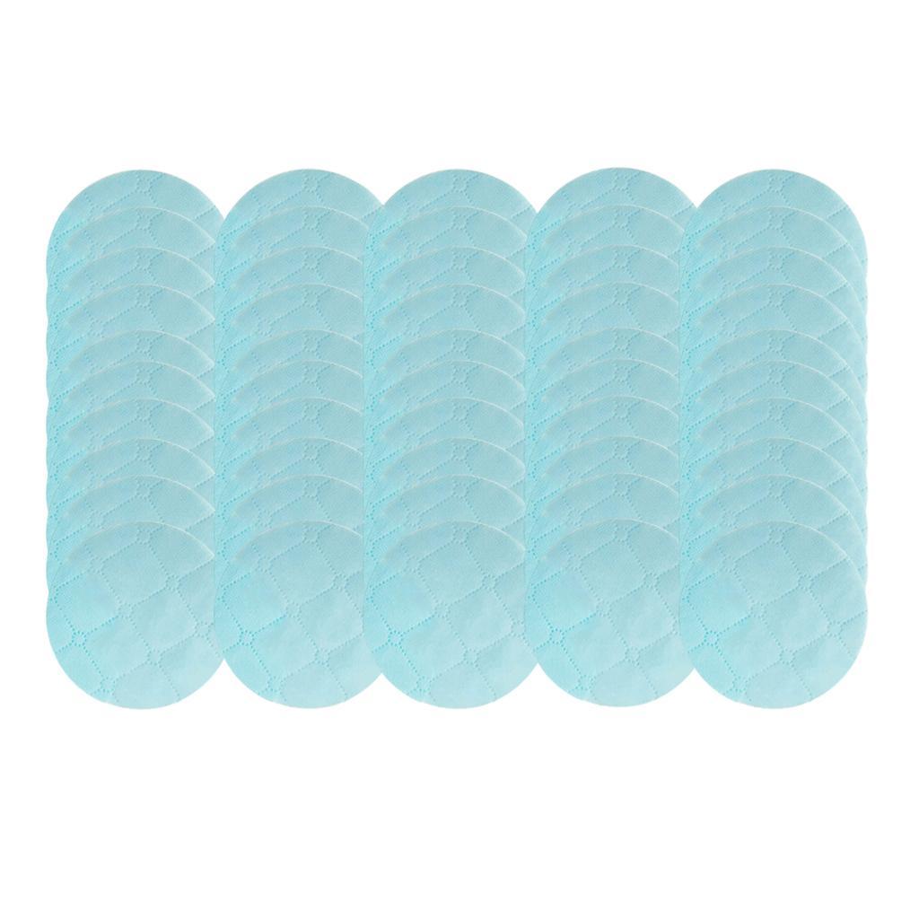 50 Pieces Disposable Mask Non-woven Mat Pad Reusable Cushion Round