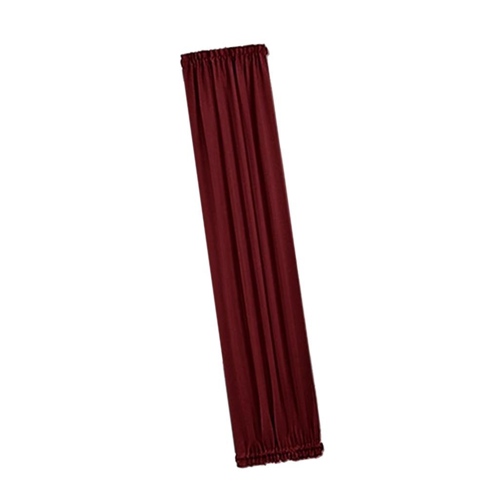 Solid-Color-Blackout-French-Door-Curtain-Panel-Rod-Pocket-Window-Treatment thumbnail 11