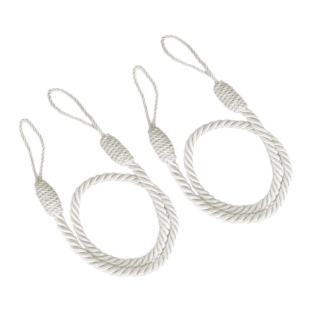 1-Pair-Curtain-Tiebacks-Tassel-Thick-Twisted-Rope-Living-Room-Decoration thumbnail 7