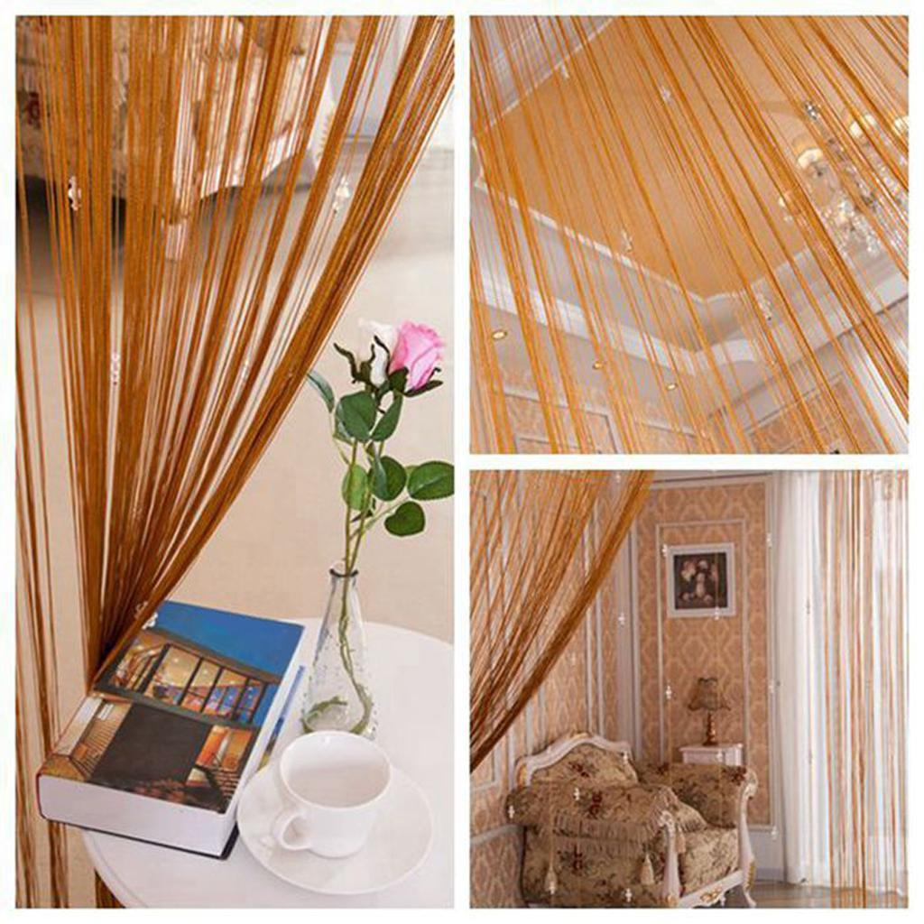 String Curtains for Home Decor Sheer Curtains Window ...