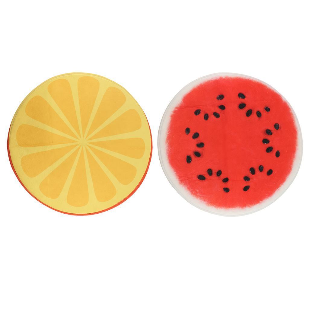 Tappeto-rotondo-porta-frutta-stampato-tappetino-antiscivolo-camera-da miniatura 5