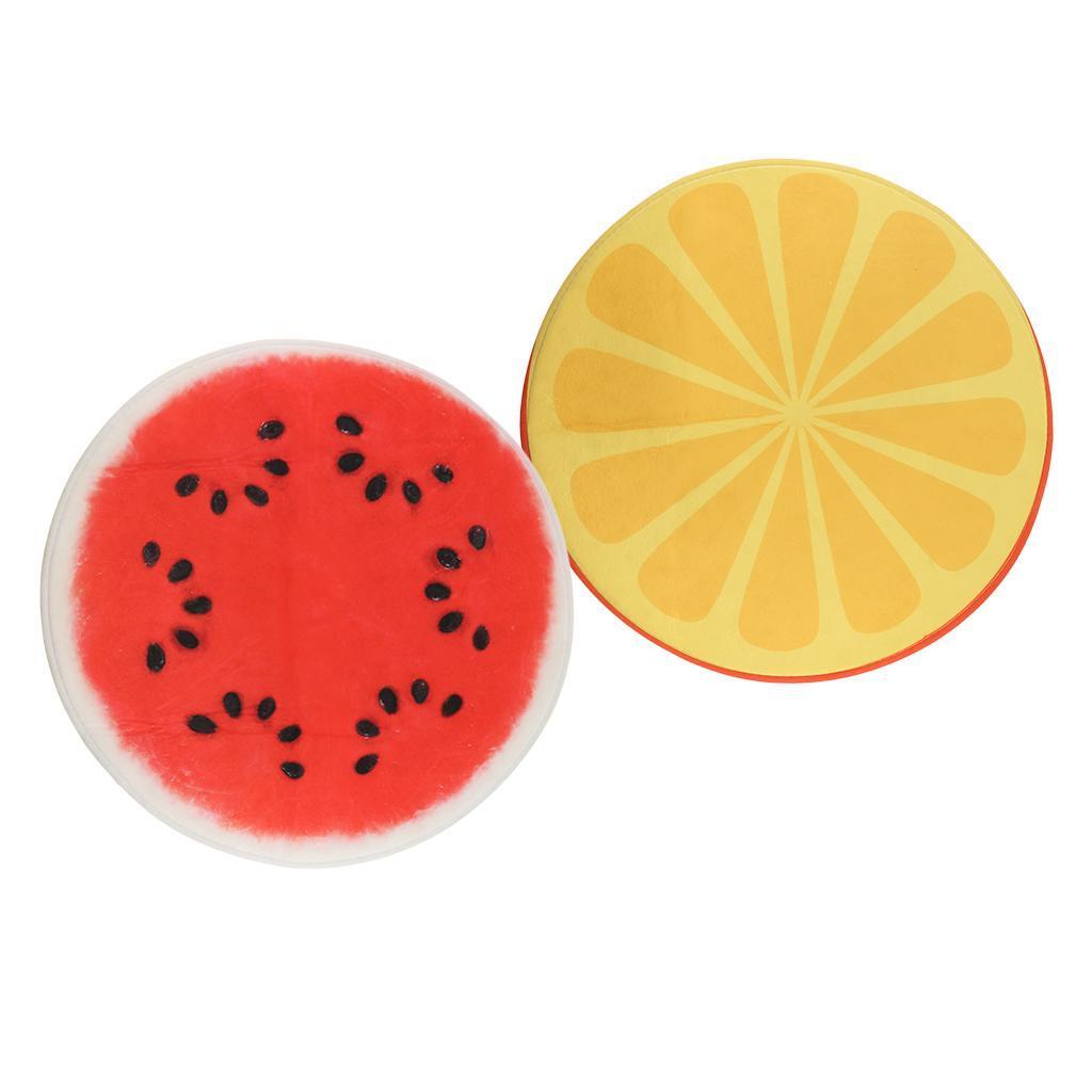 Tappeto-rotondo-porta-frutta-stampato-tappetino-antiscivolo-camera-da miniatura 6
