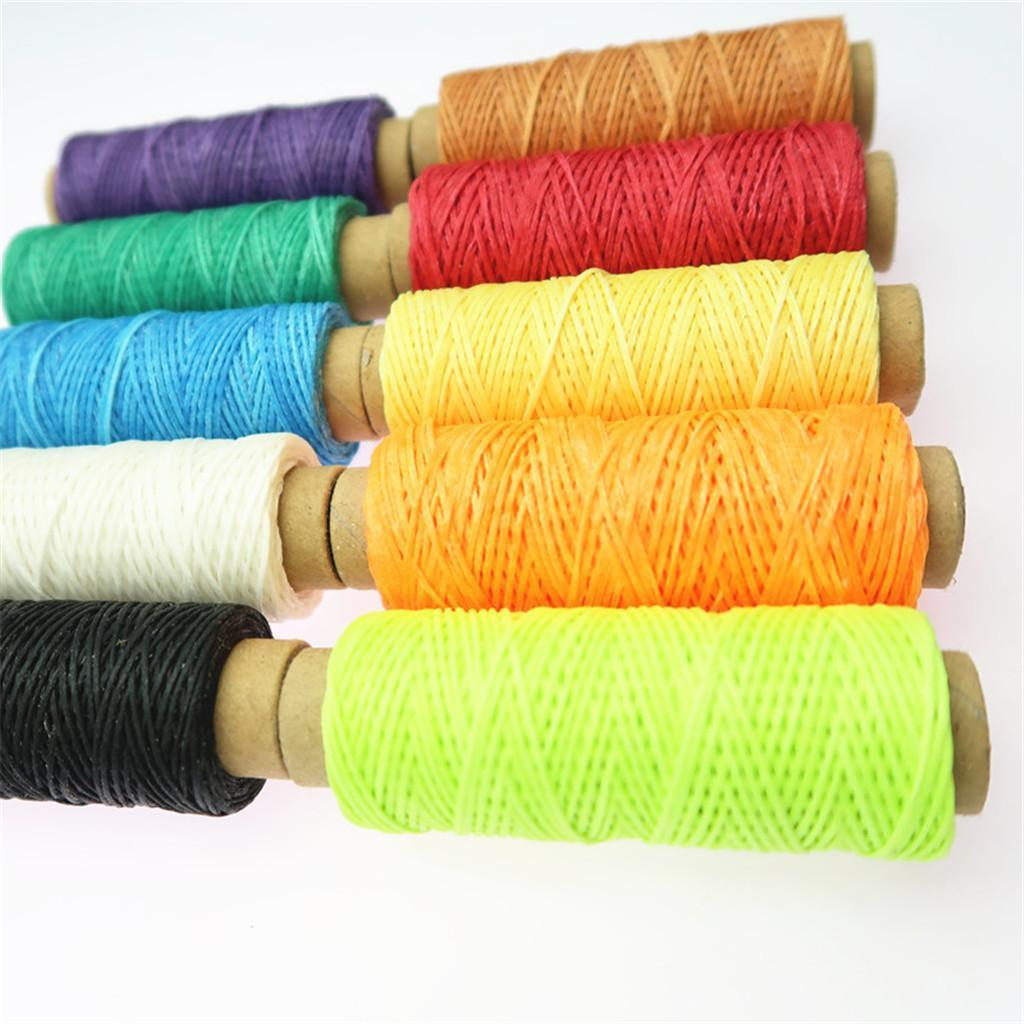 10-Pieces-Leather-Accesseory-Cotton-Wax-Thread-for-Domestic-Sewing-Machine thumbnail 14