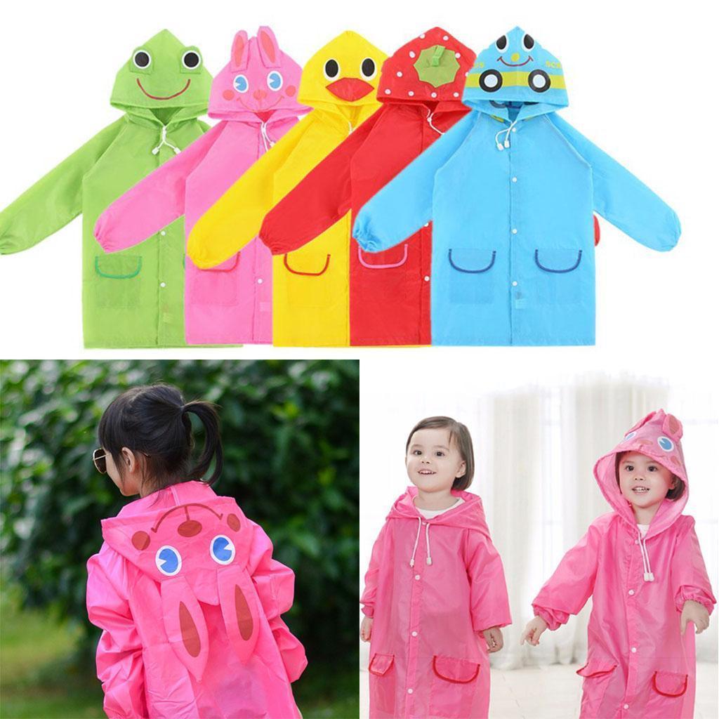 Funny Cartoon Images Of Boys details about kids funny raincoat children hooded cartoon waterproof  rainwear for girls boys