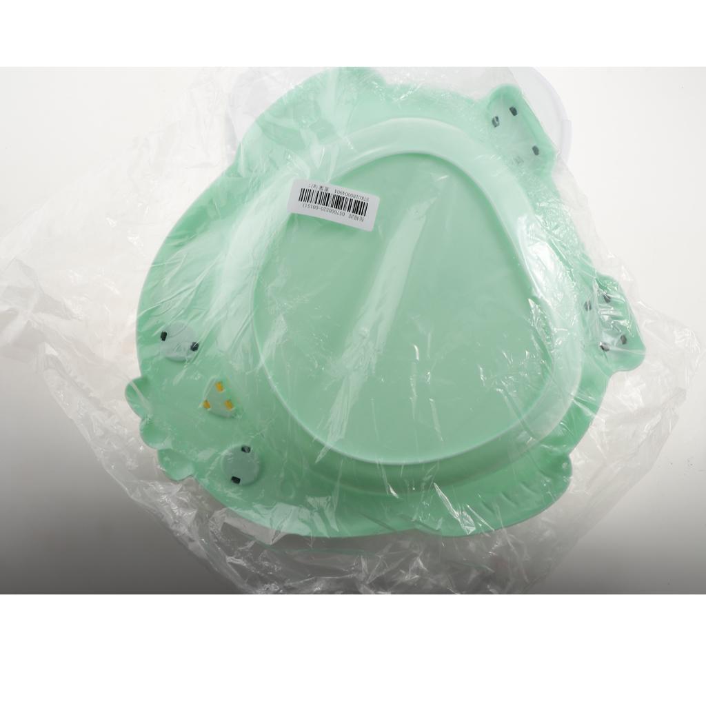 Cute Plastic Newborn Infant Baby Bathroom Bathtub Washbasin Foot Basin –Green